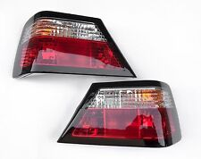 1986-1995 MERCEDES BENZ W124 E-CLASS  Crystal clear/red TAIL LIGHTS