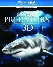 OCEAN PREDATORS 3D New Sealed Blu-ray 3D + Blu-ray