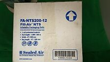 "Fill Air FA-NTS200-12 Plastic 12"" x 8""  air pillow packaging open roll"