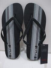 ESPIRIT FINN-E Men's Flip Flop Black/Noir Size 10 NWT