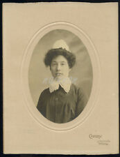 Real Photo - Studio Portrait - of NURSE or HOUSEKEEPER - by Chidley - Walsall.