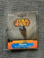 DISNEY STAR WARS CHEWBACCA CHARM - STAINLESS STEEL - NEW - FREE S/H