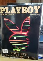 PLAYBOY MAGAZINE - Collectors Edition - 40th Anniversary Issue - JANUARY 1994