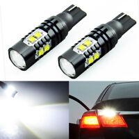 50W 921 912 T10 T15 LED 6000K HID White Car Backup Reverse Lights Bulb 12-24V*2X
