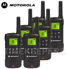 8Km Motorola TLKR T60 Walkie Talkie Two Way PMR 446 Security Leisure Radio Six