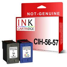 56 & 57 reman NON-OEM ink cartridge alternative forhp PSC 1110 1200 1209