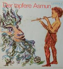 """El Valiente Asmun - Director: Theodor Popp - Rda - Litera -7"""" Singles (E972)"""