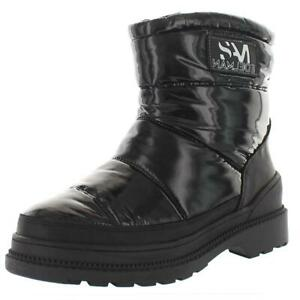 Sam Edelman Womens Carlton Patent Waterproof Winter Boots Shoes BHFO 2921