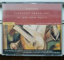 Norton Recorded Anthology of Western Music Volume 1 - 6 CD set (6th edition)