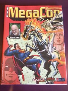 2006 MEGACON PROGRAM GUIDES / GEORGE PEREZ COVER / ORLANDO FL