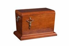 Wooden Casket Funeral Ashes Urn for Adult Cremation Casket(wu35a)