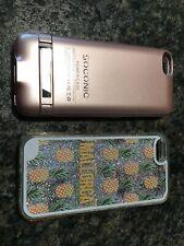 Apple iPhone 5 casos, resistente delgada Shockproof, Cargador caso, gran condición reutilizable