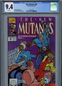 CGC 9.4 New Mutants #89