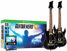 Open Box NEW Xbox One Guitar Hero Live 2 Guitar Controller & Game Bundle X box 1