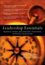 Leadership Essentials: Shaping Vision, M