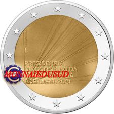 2 Euro Commémorative Portugal 2021 - Présidence du Conseil de l'UE UNC NEUVE