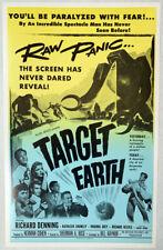 TARGET EARTH Benton window card
