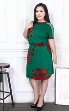 PLUS SIZE DRESS JLH Dark Green