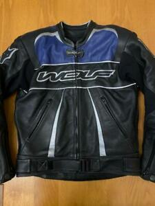 Wolf Racing Construction Leather Jacket