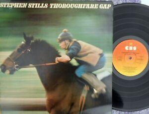 Stephen Stills ORIG UK LP Thoroughfare gap EX '78 CBS SCBS82859 Pop Rock