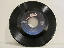 45 RECORD MICKEY GILLEY- TALK TO ME