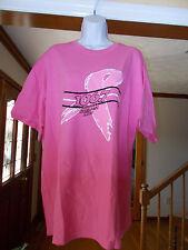 WYAY Atlanta's Greatest Hits 106.7 FM Breast Cancer Tee Shirt - Ladies XL