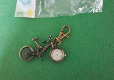 NEW Lovely bicycle WATCH Keyring