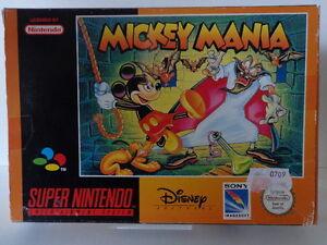 SNES Spiel - Mickey Mania (mit OVP) (PAL)10636862