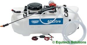 Draper 34676 Sprayer Broadcast Spot 12V 60L ATV Quad Mount Weed Killer