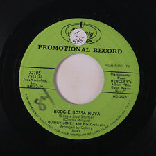 QUINCY JONES: Boogie Bossa Nova / Morning Of The Carnival 45 (dj, sm tol, sm wo