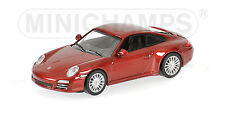 Porsche 911 Carrera 4S 2008 Red 1:64 Model 640066460 MINICHAMPS