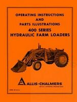 ALLIS CHALMERS D14 D15 D17 WD45 Loader Operators Manual