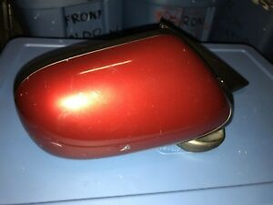 1998-1999-2000-2001-2002-2003 JAGUAR XK8 RIGHT PASSENGER EXTERIOR MIRROR RED