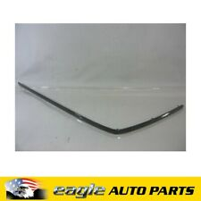 HOLDEN STATESMAN WK LH REAR BLACK BUMPER STRIP  # 92211749