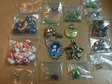 Lot of Lampwork Beads and Pendants