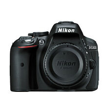Nikon D5300 Digital SLR Camera 24.2 MP With Built-in WiFi And GPS Body Black NEW