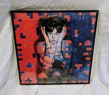 Paul McCartney Signed Tug of War Album Vinyl Beatles Wings + Beckett COA