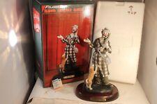 "Flambro Famous American Clown Paul Jerome Porcelain 12"" Figurine 0787/7500"