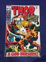 The Mighty Thor #166 (1969 - Marvel 2nd full appearance of Warlock)