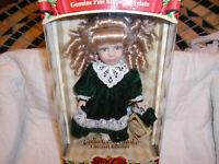 Genuine Fine Bisque Porcelain Collectors Choice Doll