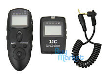 JJC WT-868 Wireless Timer Remote w/ CABLE for CANON K-1 K500 1300D 80D G5X etc.