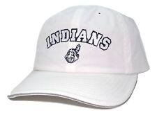 Cleveland Indians American Needle MLB Cabana Adjustable Wht Baseball Cap Dad Hat
