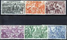 COTE DES SOMALIS POSTE AERIENNE N° 14/19 NEUF ** MNH 88M858