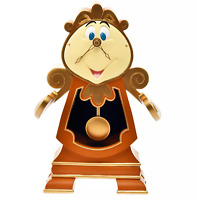BEAUTY & THE BEAST COGSWORTH FIGURE CLOCK STORY COLLECTION DISNEY STORE JAPAN