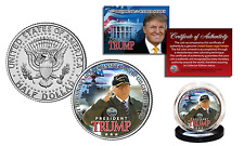 DONALD J. TRUMP Aboard the USS GERALD R. FORD Navy Ship JFK Half Dollar U.S Coin