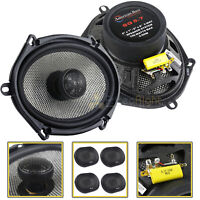 """4 Pack American Bass 6x8"""" 2 Way Coaxial Car Stereo Speakers SQ5.7 150W 4 Ohm"""