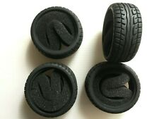 1/10 RC Car tyre set. High Grip with foam insert.52mm x 26mm Ships from Sussex!