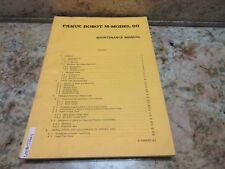 FANUC ROBOT M-MODEL 00 MAINTENANCE MANUAL B-53685E/01