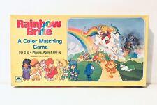 Vintage Rainbow Brite Board Game 1983