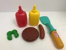 Little Tikes Child's Size Play Food BBQ Rotisserie Grill Replacement Pieces